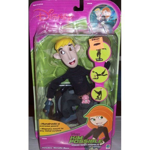 Disney KIM Possible Mission Ready Poseables Doll Ron Stoppable by - Toy Kim Possible
