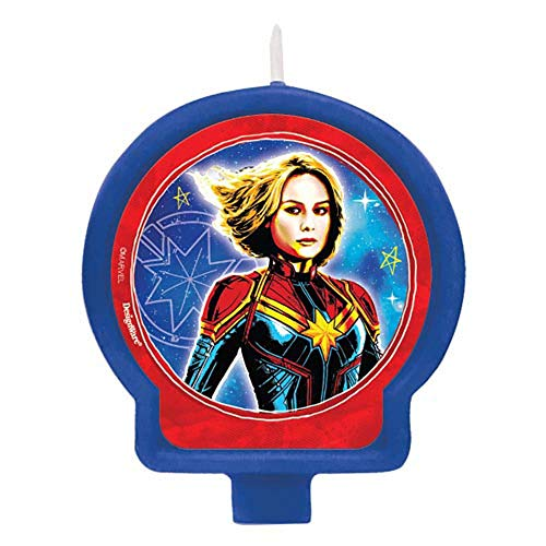 with Captain Marvel design