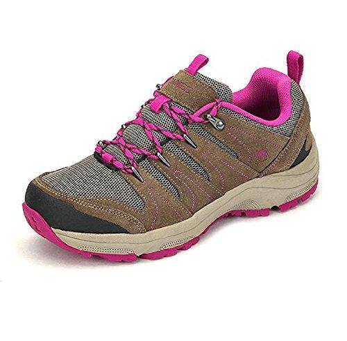 Camel Womens Professional Outdoor Low Top Walking Shoes Khaki oyNzatmp