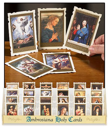 Old Masters Holy Card Set of 4