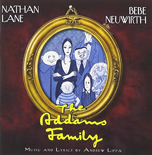 Image result for addams family musical album cover