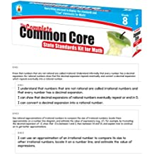The Complete Common Core State Standards Kit for Math Pocket Chart Cards, Gr 8
