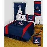 NHL Columbus Blue Jackets Hockey Team 4pc Twin Bedding Set