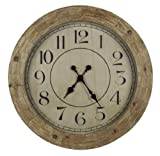 Cooper Classics Fairbanks Wall Clock For Sale