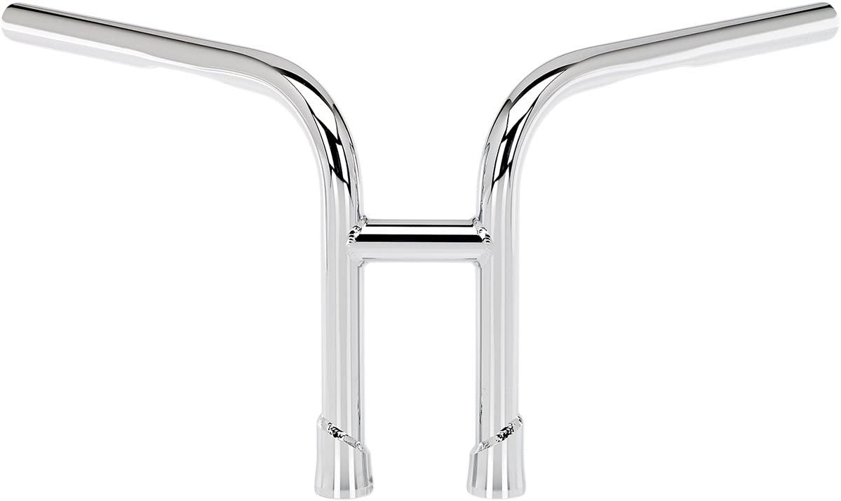 Dimpled for Stock Harley-Davidson Hand Controls Biltwell HB-H2D-01-CP Chrome H2 1 Handlebar