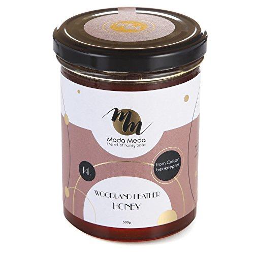 Woodland Heather (ModaMeda 100% Pure Organic Raw Natural Greek Healing Island Ikaria Woodland Heather Pine Honey - 8.8oz / 17.63oz)