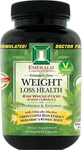Emerald Laboratories - Weight Loss Health - with Green Coffe