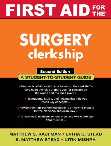 First Aid for the Surgery Clerkship (First Aid Series) Pdf