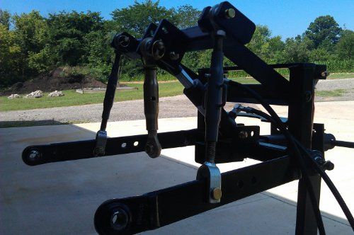 UTV Hitchworks Farmboy Sport G 3-point Hitch for John Deere Gator 825i and 855d - Hydraulic Drilling Machine