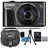 Canon PowerShot SX720 HS 20.3 MP 40X Optical Zoom Digic 6 Processor Wifi / NFC Enabled Digital Camera Black with Accessory Bundle
