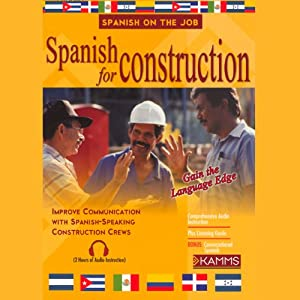Spanish for Construction Audiobook