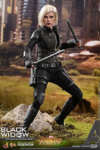 Movie Masterpiece Avengers Infinity War 1/6 Scale Figure Black Widow Japan limited