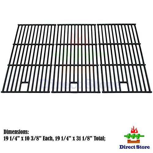 Direct store Parts DC123 Porcelain Cast Iron Cooking grid Replacement Brinkmann, Charmglow, Costco Kirkland, Jenn Air, Members Mark, Nexgrill, Perfect Flame, Sams Club Gas Grill