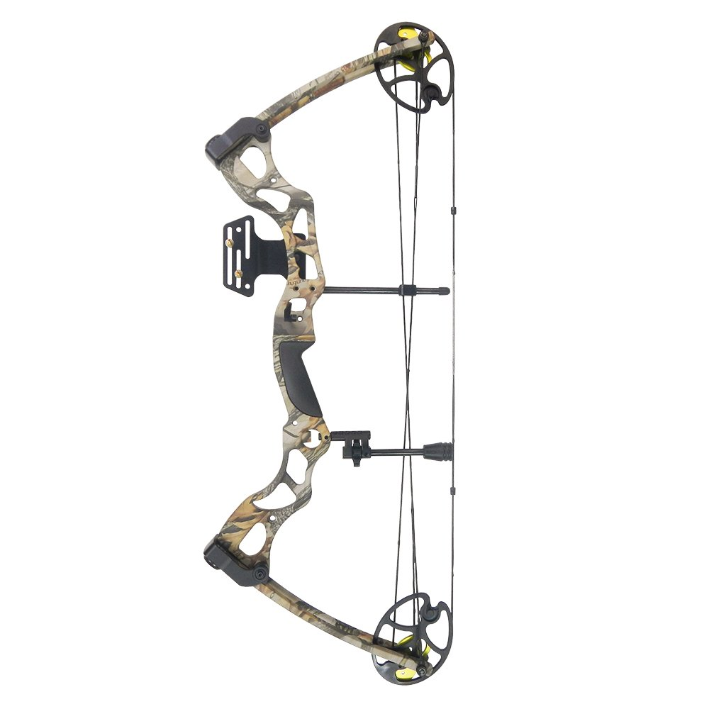 iGlow 40-70 lbs God's Country Late Season Camouflage Camo Archery Hunting Compound Bow 175 150 60 55 30 lb Crossbow