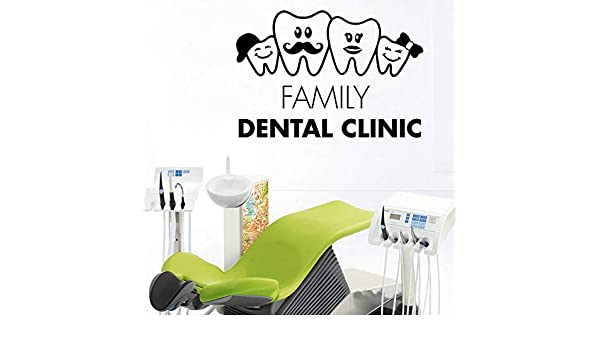 SLQUIET Bricolaje Dientes Familia Dentista Calcomanía dental ...