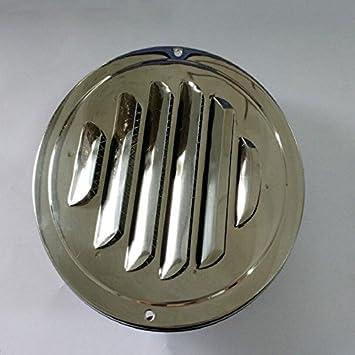 Edelstahl Abluftventilator Luft Entlüftung Metall Abdeckung