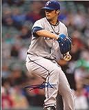Autographed C.J. Wilson Photo - Texas Rangers 8x10 W coa - Autographed MLB Photos