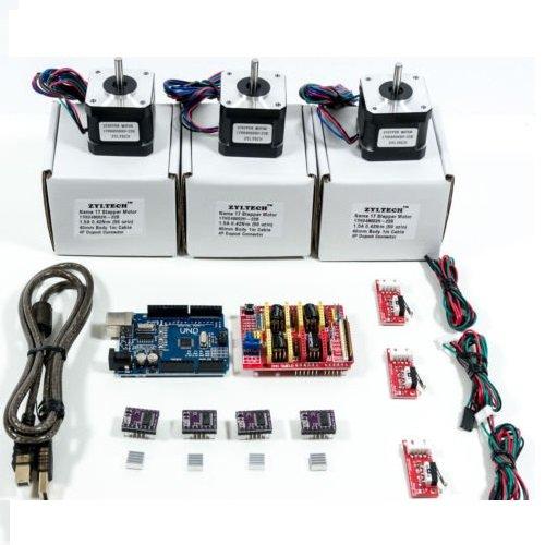 arduino-cnc-kit-w-uno-shield-stepper-motors-drv8825-endstop-a4988-grbl