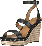 Coach Womens Flat Sandals, Black, Size 9.5