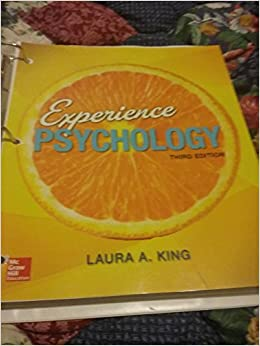 Experience psychology 3rd edition laura a king 9781259698156 experience psychology 3rd edition laura a king 9781259698156 amazon books fandeluxe Choice Image