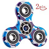 Fidget Spinner Toy,Fidget Toy For Kids & Adults - Fiddle Sensory Toy For Stress & Anxiety Relief, Fight Autism, Boost Focus, Bad Habits, GAD Perfect For ADD, ADHD, Anxiety, and Autism Adult Children