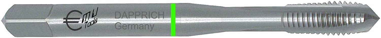 HiPC Maschinengewindebohrer HSS-E Co5, DULO, RH, DIN 371 B, Metrisches ISO-Regelgewinde nach DIN 13: M 2,3 ISO2/6H DAPPRICH