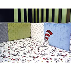 Trend Lab Dr. Seuss Crib Bumpers, Cat In The Hat