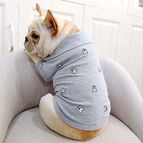 (maite Costume Clothing for Dog Small Medium French Bulldog Pug Dog Clothes Pet Soft Dog Clothes French Bulldog Coat Jacket (M))