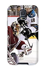 Fashion Tpu Case For Galaxy S5- Phoenix Coyotes Hockey Nhl (53) Defender Case Cover