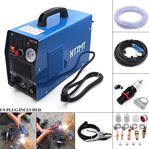 HTTMT- Air Plasma Cutter 50 50A CUT-50 Inverter DIGITAL Machine Dual Voltage 110/220V fit all cut Torch [P/N: ET-CUT-50] from HTTMT