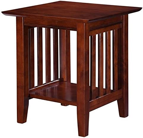 Pemberly Row End Table in Walnut