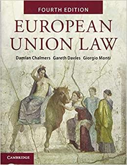 Book's Cover of European Union Law: Text and Materials (Anglais) Broché – 12 septembre 2019