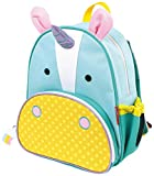 Skip Hop Zoo Little Kid and Toddler Backpack, Ages 2+, Multi Eureka Unicorn