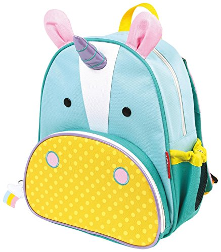 Skip Hop Zoo Little Kid and Toddler Backpack, Ages 2+, Multi Eureka...