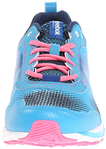 Reebok Womens Zigkick Wild Trail Running Scarpa Volo Blu / Navy / Impatto Blu / Rosa Solare