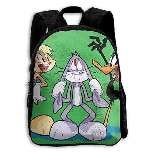 Costume Space Duck Daffy Jam (Unisex Baby Kid Lola Bunny Bugs Bunny And Daffy Duck Preschool Backpack)
