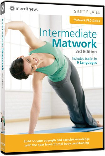 STOTT PILATES Intermediate Matwork 3rd Edition (6 Languages)