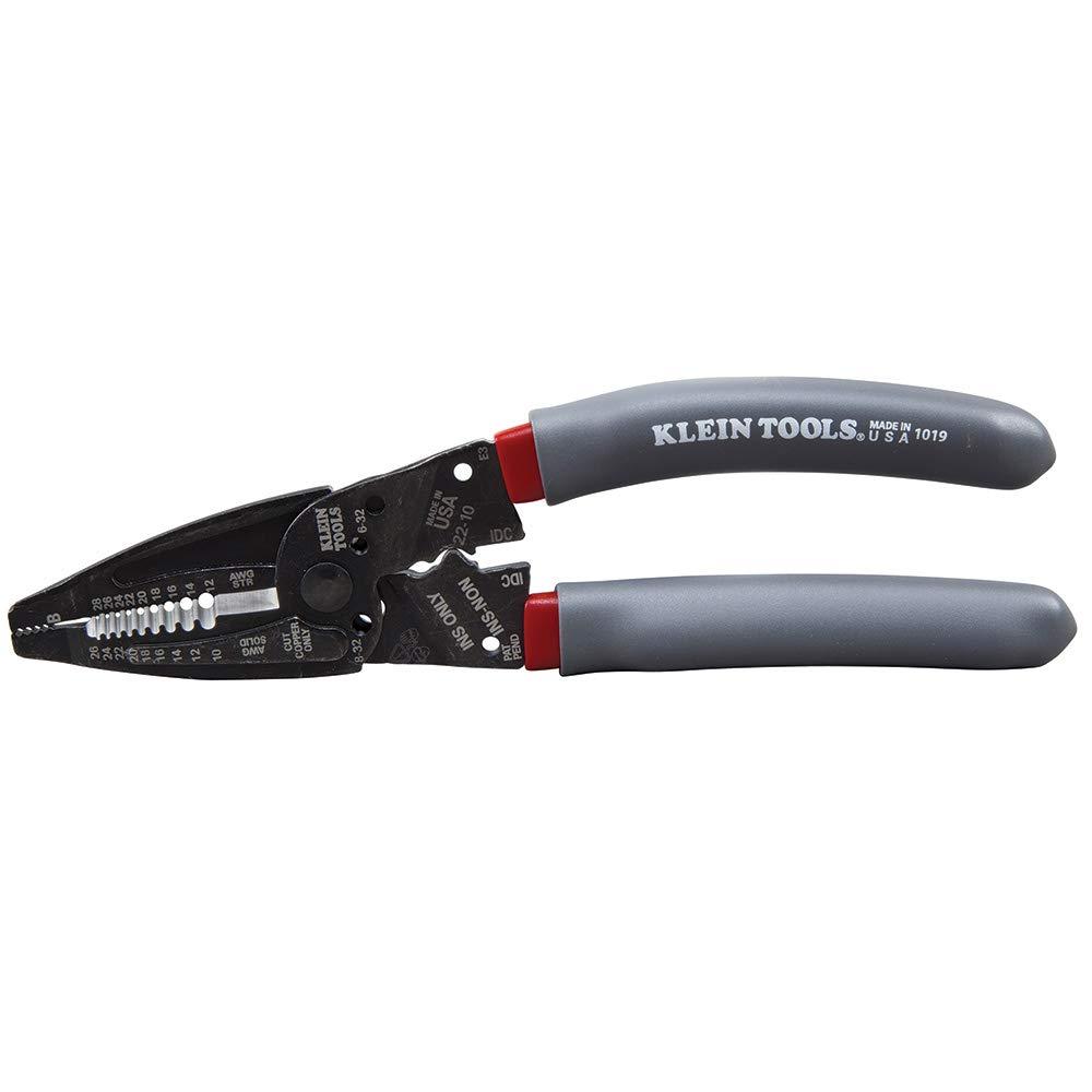 Klein Kurve Wire Stripper/Crimper / Cutter for B and IDC Connectors, Terminals, More Klein Tools 1019