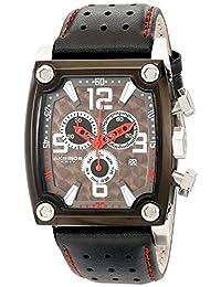 Akribos XXIV Men's AKR415BK Conqueror Swiss Quartz Black Chronograph Watch
