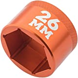 Fox Fork Top Cap Socket 26mm Orange
