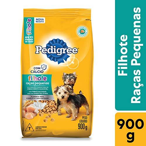 Ração Pedigree Para Cães Filhotes Raças Pequenas 900 G Pedigree para Todas Pequeno Filhotes - Sabor Sem sabor