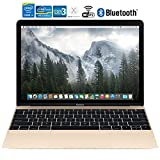 Apple MacBook MK4N2LL/A 12in Laptop with Retina Display 512 GB, Gold - (Renewed)