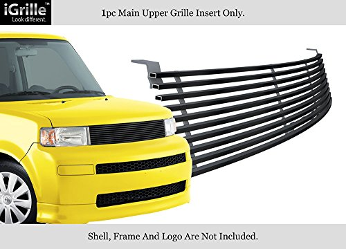 APS Compatible with 2003-2007 Scion XB Black Stainless Steel Billet Grille Insert T85421J