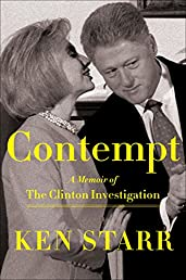 Contempt: A Memoir of the Clinton Investigation