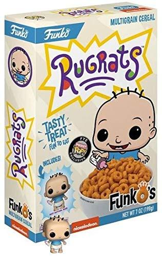 Funko Pop Cereal Rugrats Tommy Pickles con Mini Figura Aventuras en Pañales