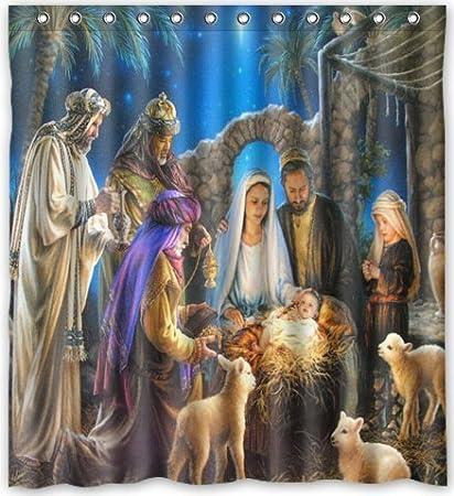 Imagenes Sagrada Familia Navidad.Hensu Navidad Sagrada Familia Arbol Tres Reyes Navidad