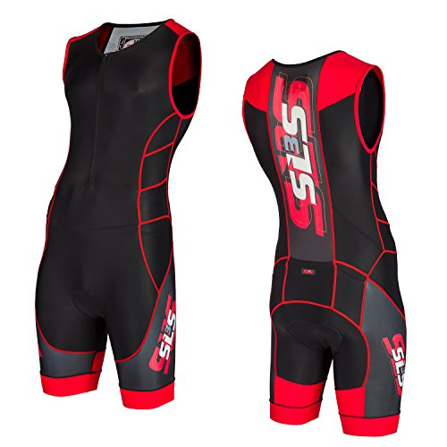 SLS3 Mens Triathlon Tri Suit CMX | 3 Pocket | Skinsuit | Trisuit | German Designed