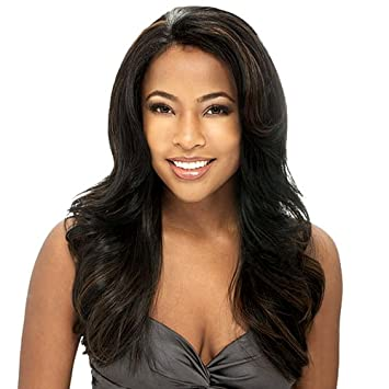 Freetress Equal Lace Front Natural Hairline Wig - Estelle-Color 1