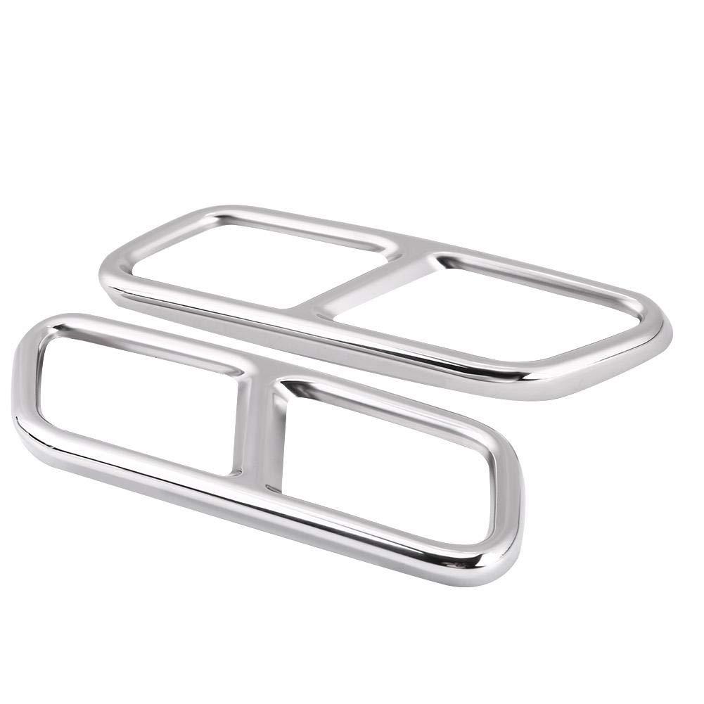 Accesorios de la Cubierta del Tubo de Escape trasero Delaman para Mercedes Benz GL X166 13-15 S R Clase W222 W251 10-17 1 par