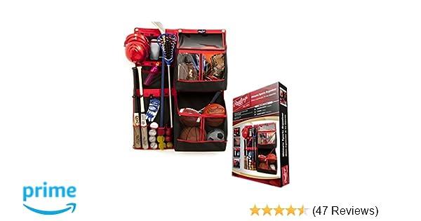 Rawlings Ultimate Sports Equipment Organizer FSSB36 Bats, Balls, Sticks, Gloves, Helmets